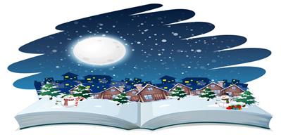 """""""Книга зимы"""" в детской библиотеке"""